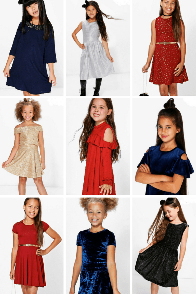 boohoo kids collection holiday style