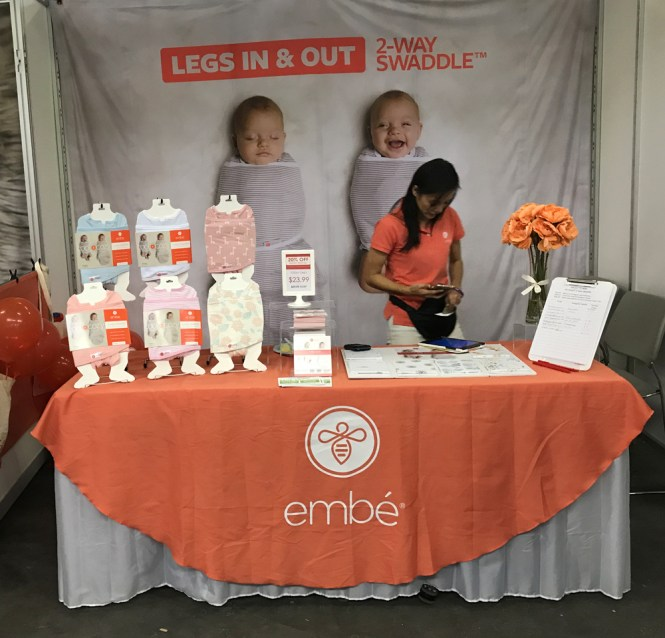 Top Picks from the 2017 New York Baby Show | embe 2-way swaddle