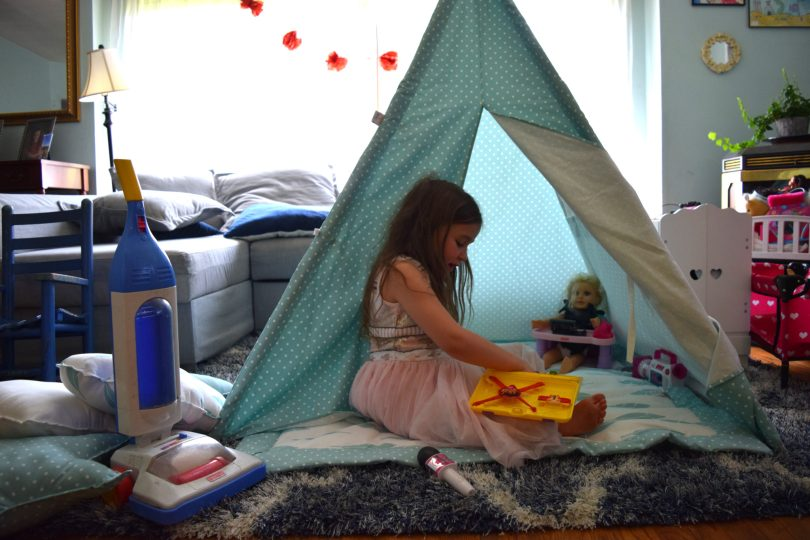 kids playspace | the cutest kids tent from Teepee Joy