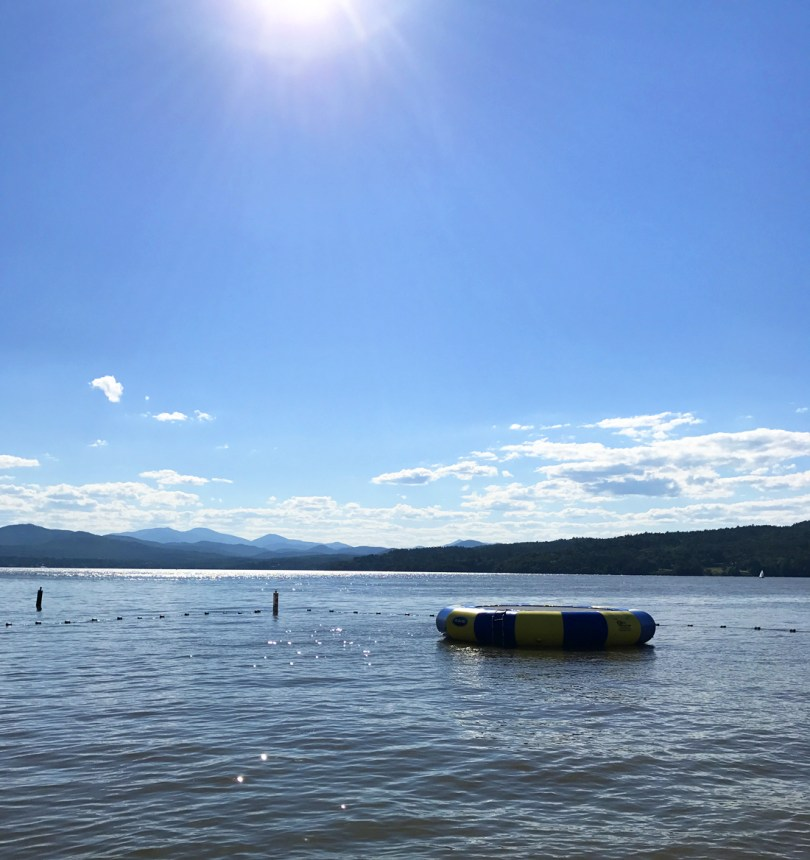 family friendly vacation on Lake Champlain at Basin Harbor resort