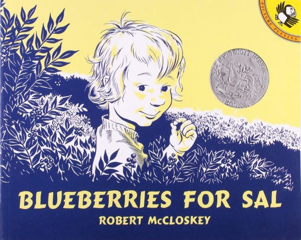 Kids Books About Outdoor Adventures - Blueberries for Sal
