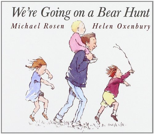 Kids Books About Outdoor Adventures - We're Going on a Bear Hunt