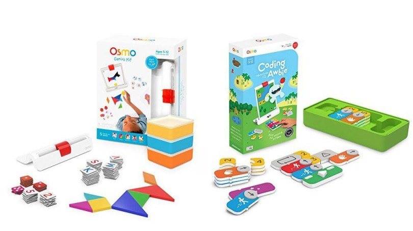 Teaching Toys for Kids Gift Guide | Osmo Coding Awbie Game + Genius Kit for iPad