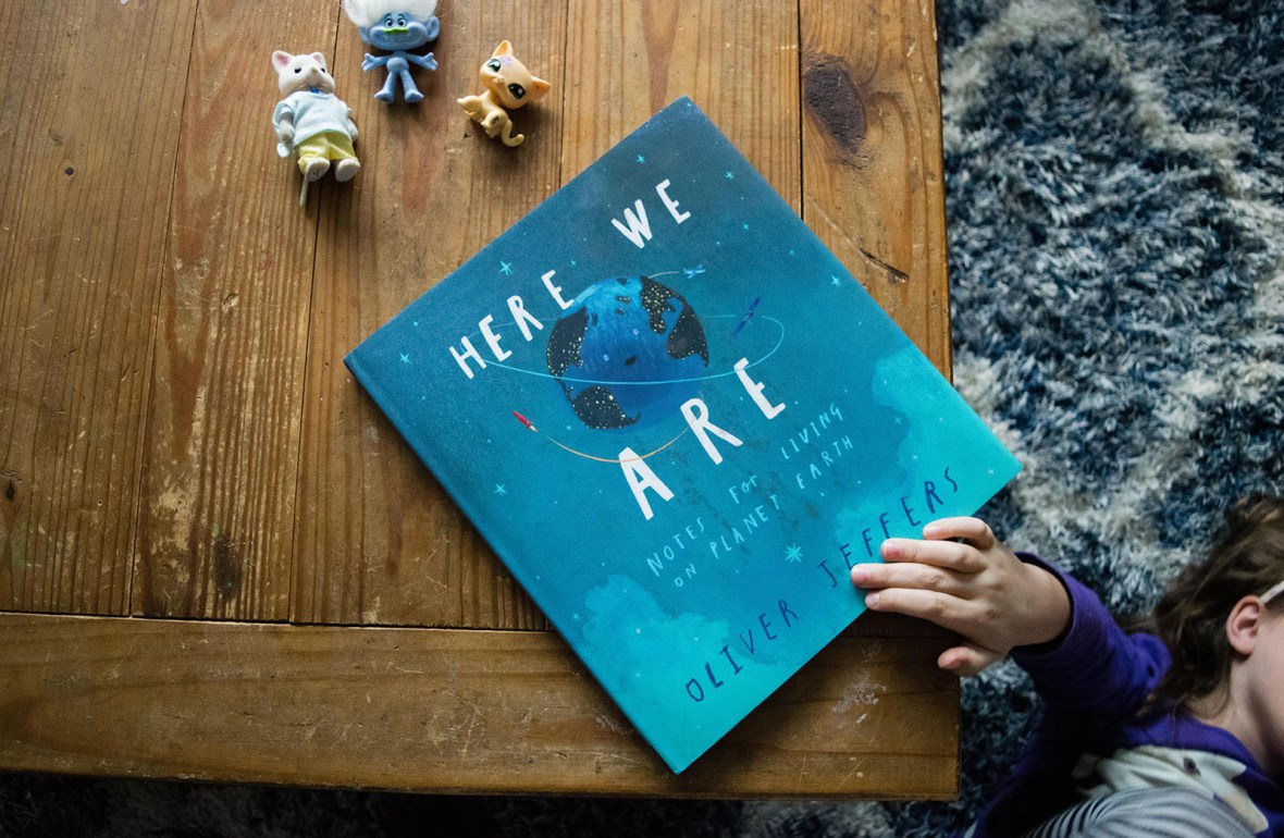 8 of the Best Childrens Books of 2017 - kids books - picture book - Here We Are
