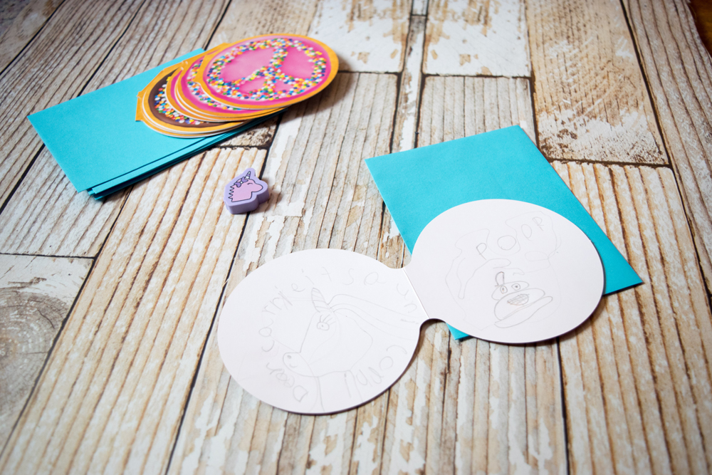 Pen pal ideas for kids - stationery to keep their interest