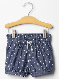 GAP Starry Bubble Short