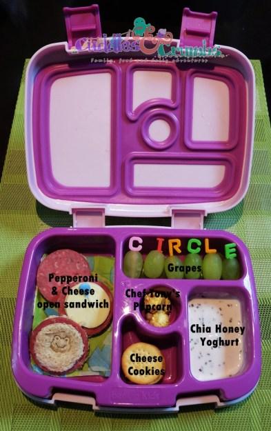 Bentgo kids circles bento box