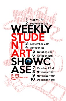 Student Art Showcase RGB (Screens and Laser Printing)