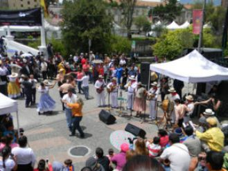Cuenca's festivals are a major attraction for expats, according to live-overseas services.