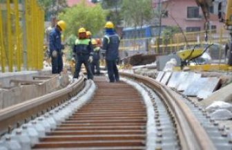 Work on the tram will intensify in 2015.