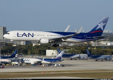 Lan Airlines said it would consider ending domestic air service if proposed legislation passes.