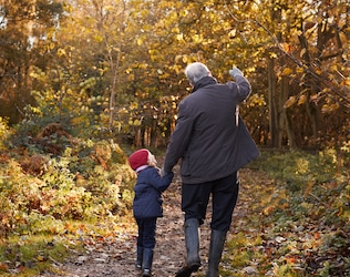 Developing a friendly relationship with old age by making the most of each day