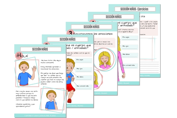 Ejercicios Cuadernos Emociones Ira