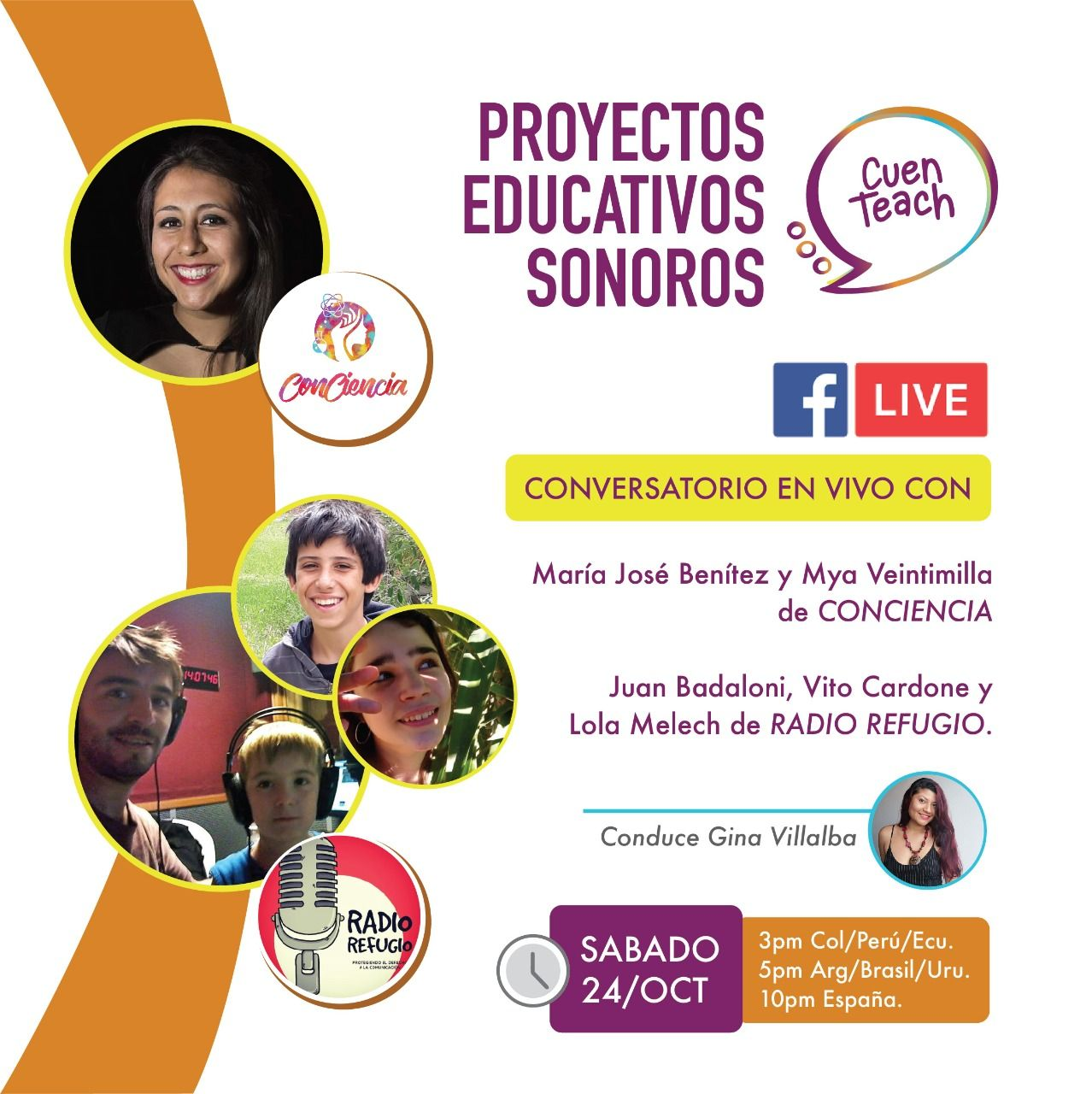 Entrevista a Podcast Educativos - ConCiencia y Radio Refugio