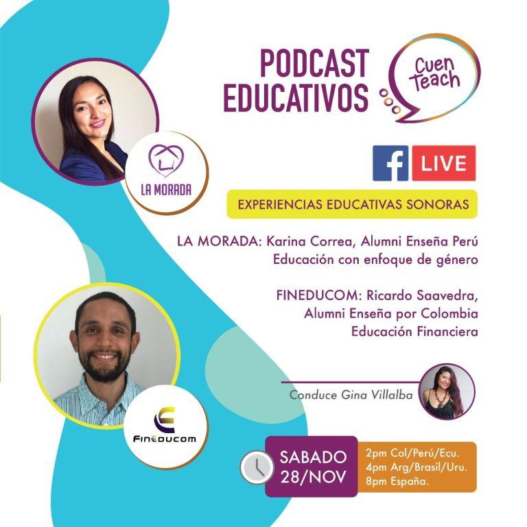 Entrevista podcast Educativos: Fineducom y La Morada