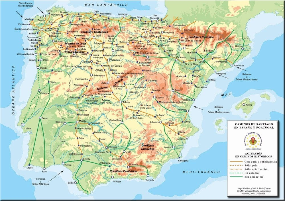 Camino de santaigo desde Alicante y Valencia 12