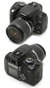 Camara nueva: Canon EOS 350D 1