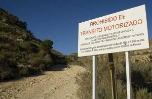 Problemas para la BTT en la Comunidad Valenciana 2