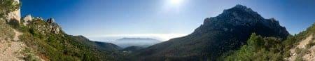 panoramica ponoig y puig campana