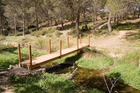 Senderismo por el rio Magro, casas de Tabarla 2