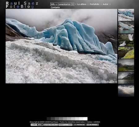 captura pantalla fotoblog raul saez