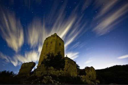 Castillo de Aledua en Llombai