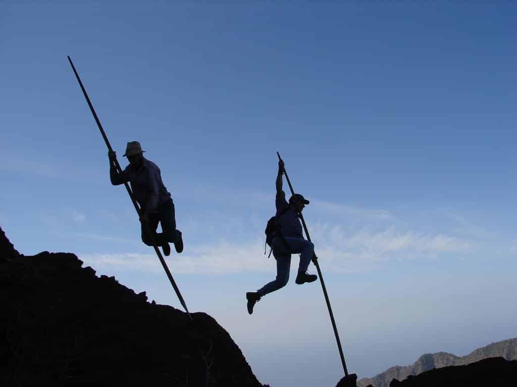 Salto del pastor Canario 10