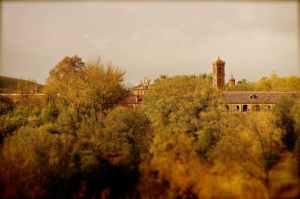 vista desde parque del antiguo monasterio