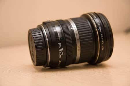Actualización de objetivo, gran angular Canon 10-22 1
