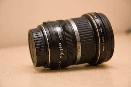 Actualización de objetivo, gran angular Canon 10-22 6