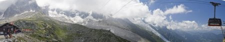 Subida a la Auguille Du Midi en Chamonix 17