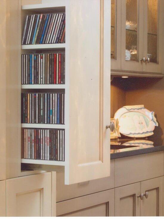 dvd and blu ray storage ideas
