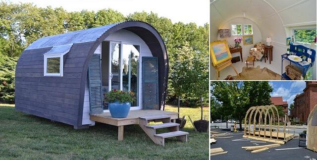 Quonset Hut Tiny House
