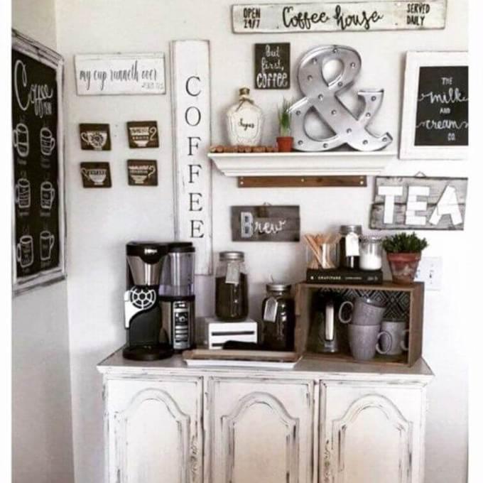 small coffee nook ideas
