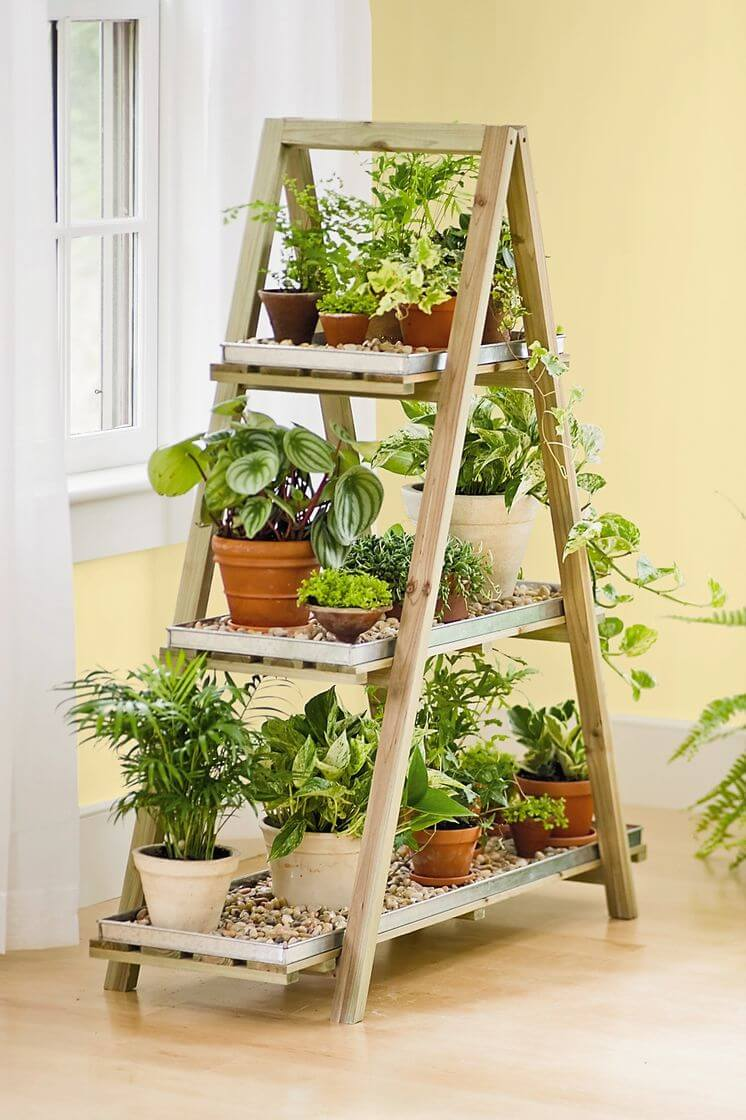 36 Best DIY Plant Stand Ideas for indoor and outdoor ... on Plant Stand Ideas  id=77557