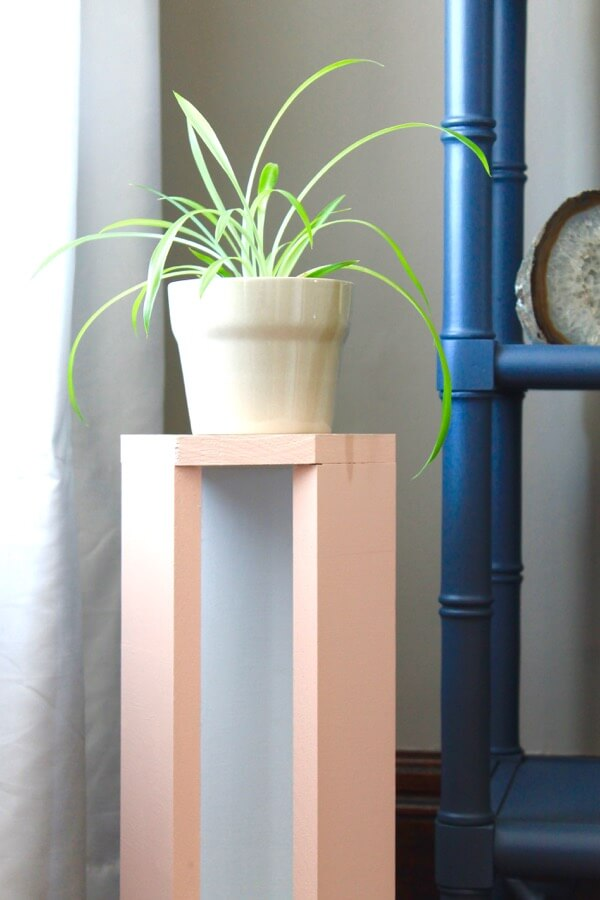 Wood-Plant-Stand