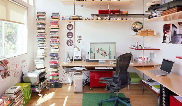 small deck ideas Double-dip desk