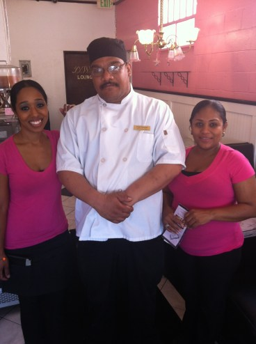 The Staff at M'dears Bakery & Bistro