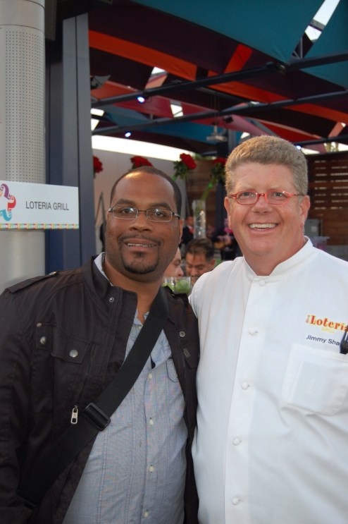 Chef Jimmy Shaw and I