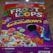 Kellog's Fruit Loops with Fruity shpaed Marshmallows