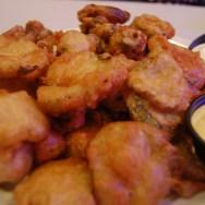 Fried Pickles & Fried Jalepeno at Slater's 50/50