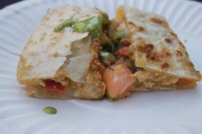 Chicken Quesadilla from All Flavor No Grease
