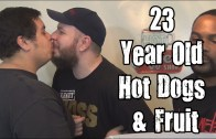 Wreckless Eating – 23 Year Old Hot Dogs & Fruit (Episode 68) *Vomit Alert*