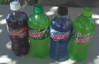 Mountain Dew 80 Ounce Challenge *Vomit Alert*