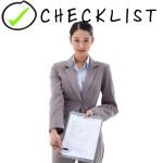 Asset purchase agreement checklist Word & PDF
