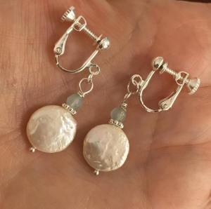 Clip- on earrings