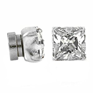 Diamond type studs designed for man without piercings.
