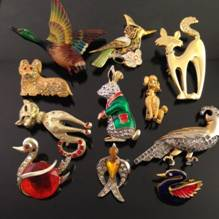 Antique Men's Brooches