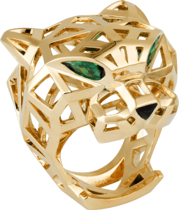 PANTHÈRE DE CARTIER YELLOW GOLD RING FOR MEN