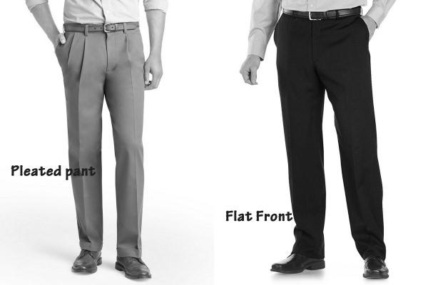 Difference Between Pleated And Flat Front Pants | Pant Ne